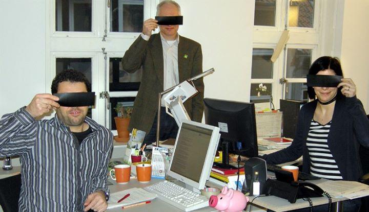 Wie im wirklichen Leben? Das Team von Eins A Kommunikation zeigte im Februar 2013, dass es keinen Unterschied zwischen virtueller und persönlicher Kommunikation macht. (Zum Facebook-Post . Bild klicken)