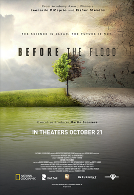 "Filmplakat ""Before the Flood"""